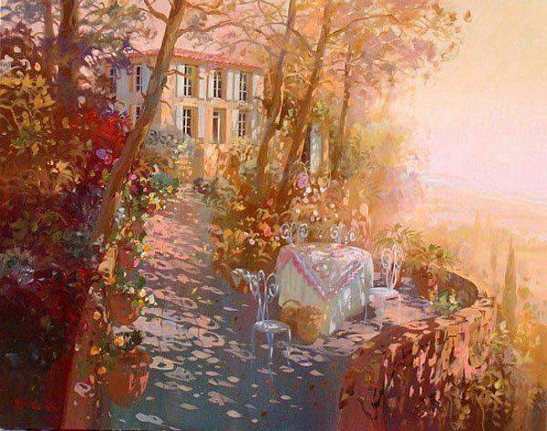 Sparkling Paintings by Laurent Parcelier