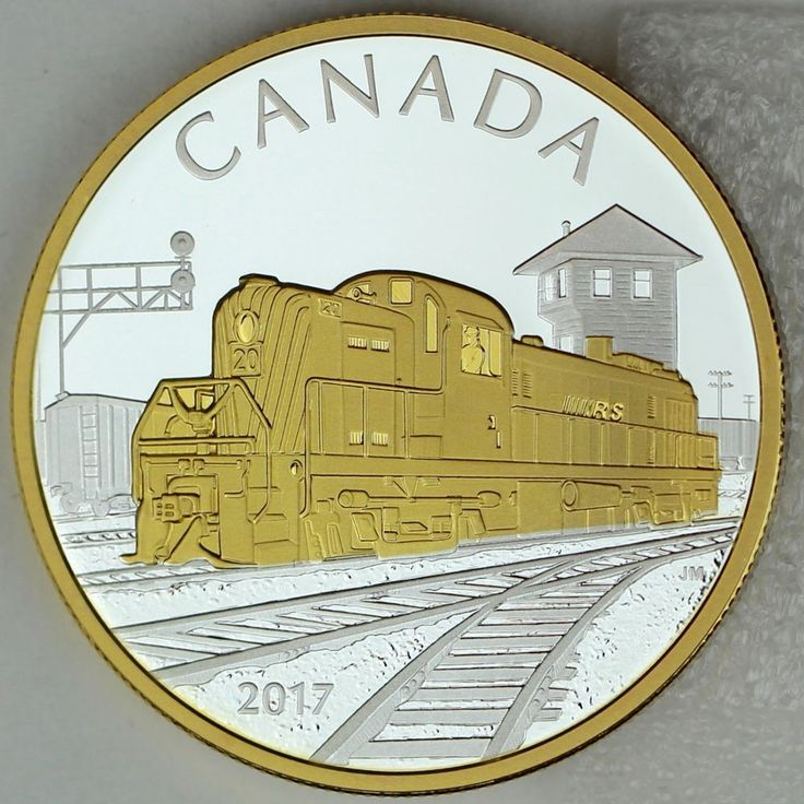 2017 20 Locomotives Across Canada The Rs 20 1 Oz Pure