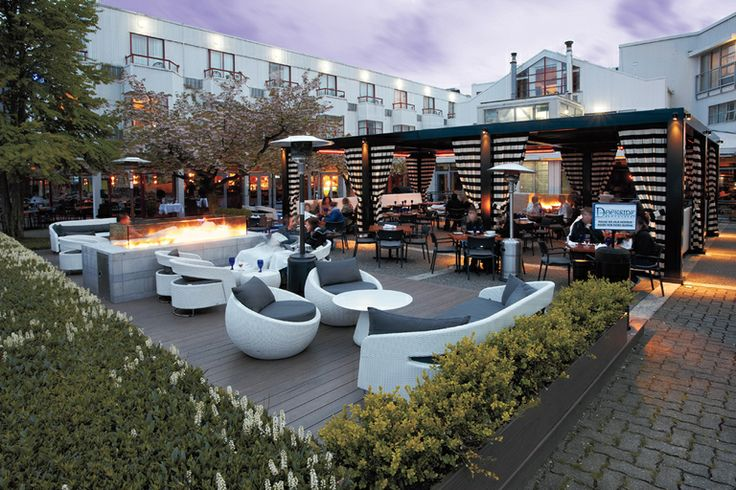 Granville Island Patio - Dockside Restaurant