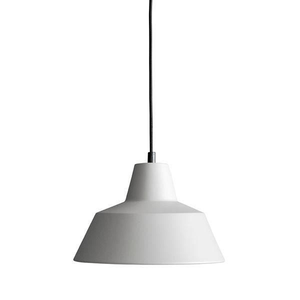 Made By Hand Værkstedslampe Pendel Grå W2 spisebordslampe