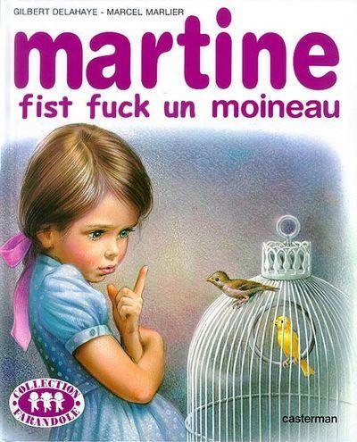 Martine fist fuck un moineau