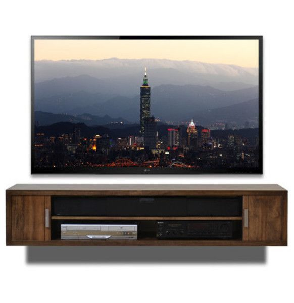Wall Mount TV Stand - Terra Mar Clove from Woodwaves