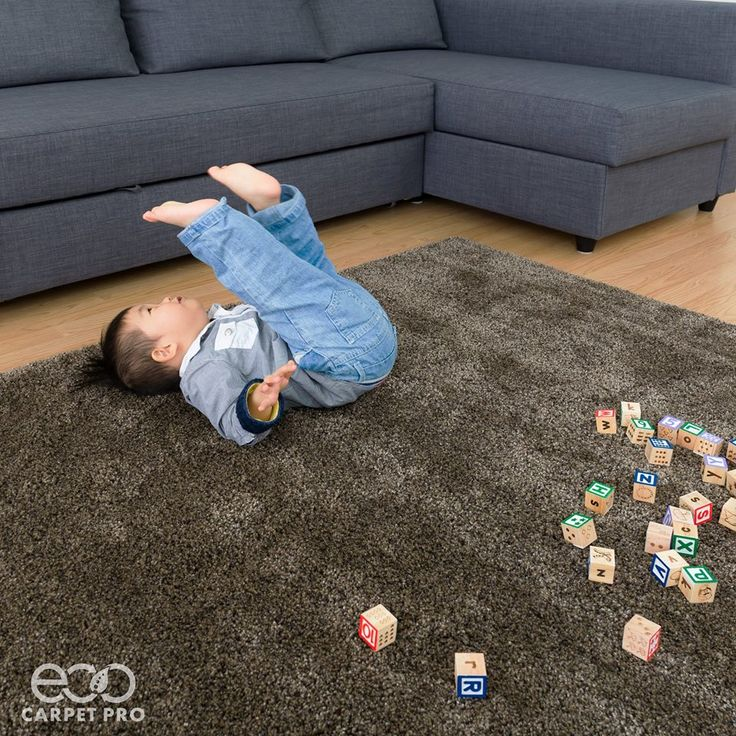 Babies spend a lot of time playing and rolling on the floor. Do you know what they're laying on?  Carpets should be professionally cleaned every six months to prevent discoloration and dirt build up.  Learn More: http://bit.ly/EcoCarpetPro
