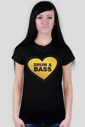 Koszulka damska Drum and Bass