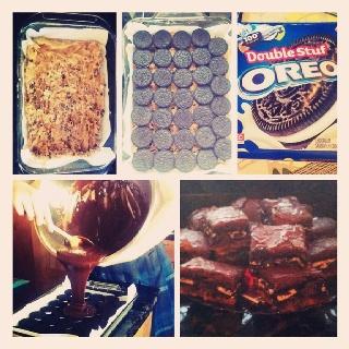 Slutty brownies | Wanda's sweetshop | Pinterest