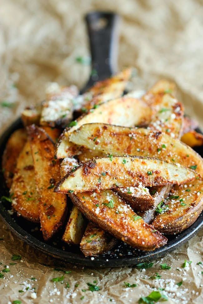 Delicious Garlic Parmesan Fries | Easy Recipe for Dinner