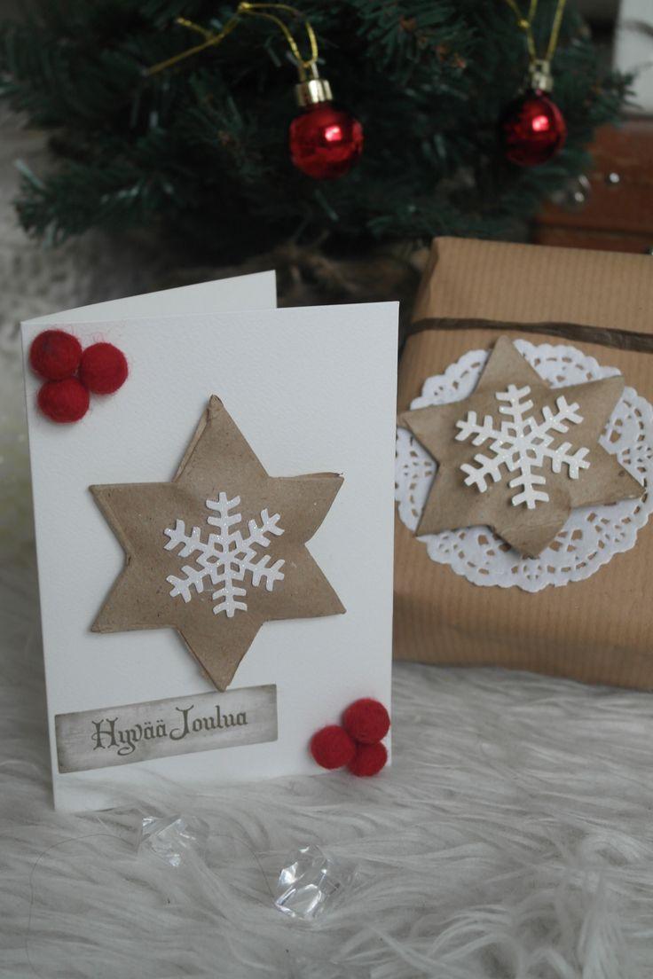 DIY, christmascard,