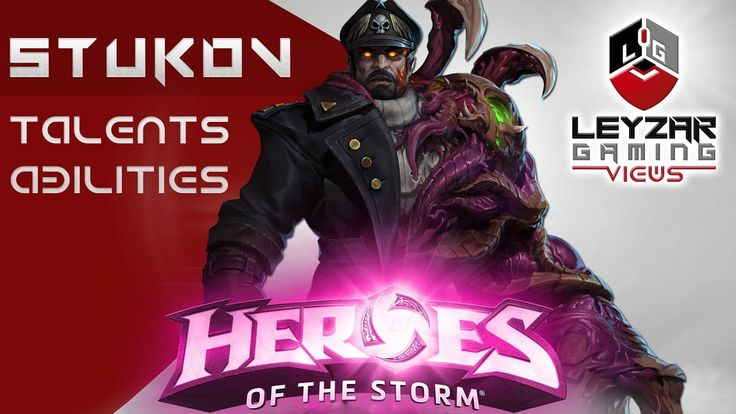 Heroes of the Storm (Hero Preview) - Stukov Talents & Abilities (HotS St...