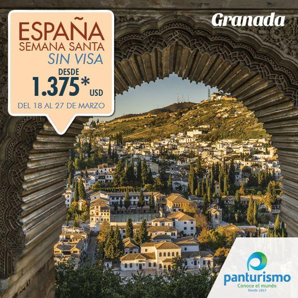 En Semana Santa Viaja a España a un excelente precio. Más información en Cali al 668 2255 y en Bogotá 606 9779. www.panturismo.com