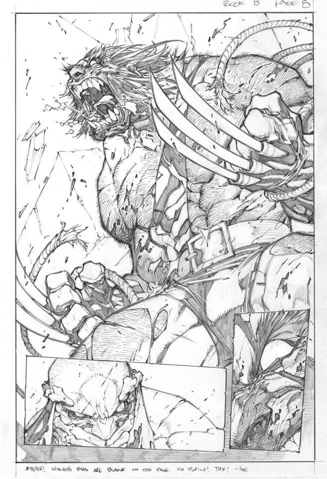 Savage Wolverine by Joe Madureira