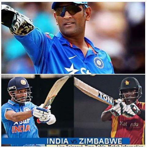 India vs Zimbabwe series starting 11th June.