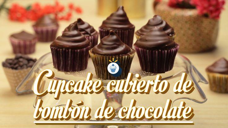 ¿Cómo preparar Cupcakes de Bombón Cubiertos de Chocolate? - Cocina Fresca