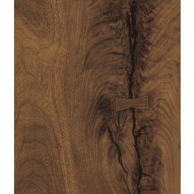 Formica Brand Laminate 60-in x 144-in Black Walnut Timber Matte Woodgrain Laminate Kitchen Countertop Sheet