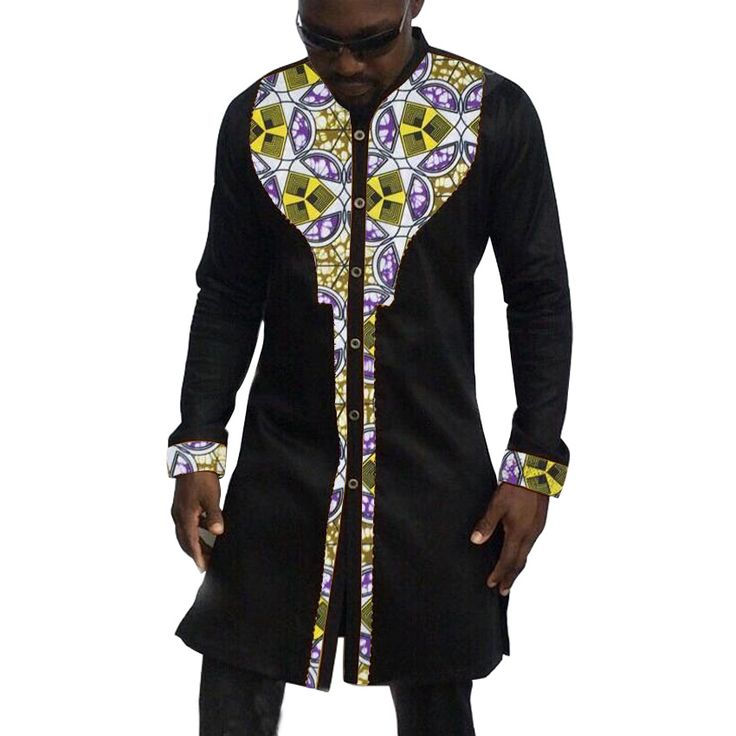 Popular African Men Shirts-Buy Cheap African Men Shirts lots from ...