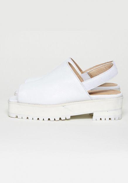 #woodwood Fabienne Sandals (optic white) http://www.allfound-store.com/fabienne-sandals-optic-white