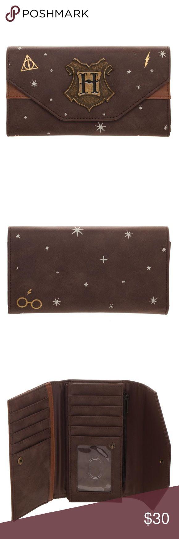 Harry Potter Foldover Flap Wallet Damen Hogwarts Boutique
