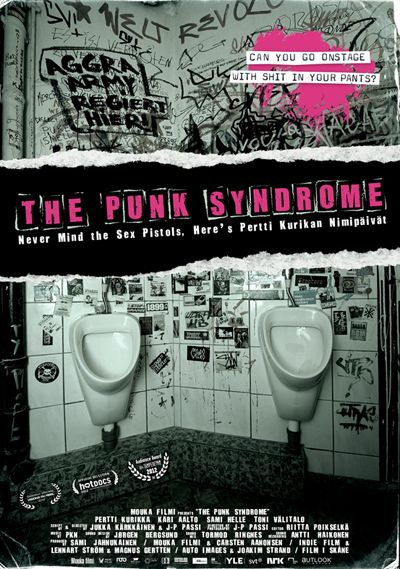 The Punk Syndrome is a film about Finland's most kick-ass punk rock band, Pertti Kurikan Nimipäivät. The band members, Pertti, Kari, Toni and Sami, are mentally handicapped and they play their music with a lot of attitude and pride.