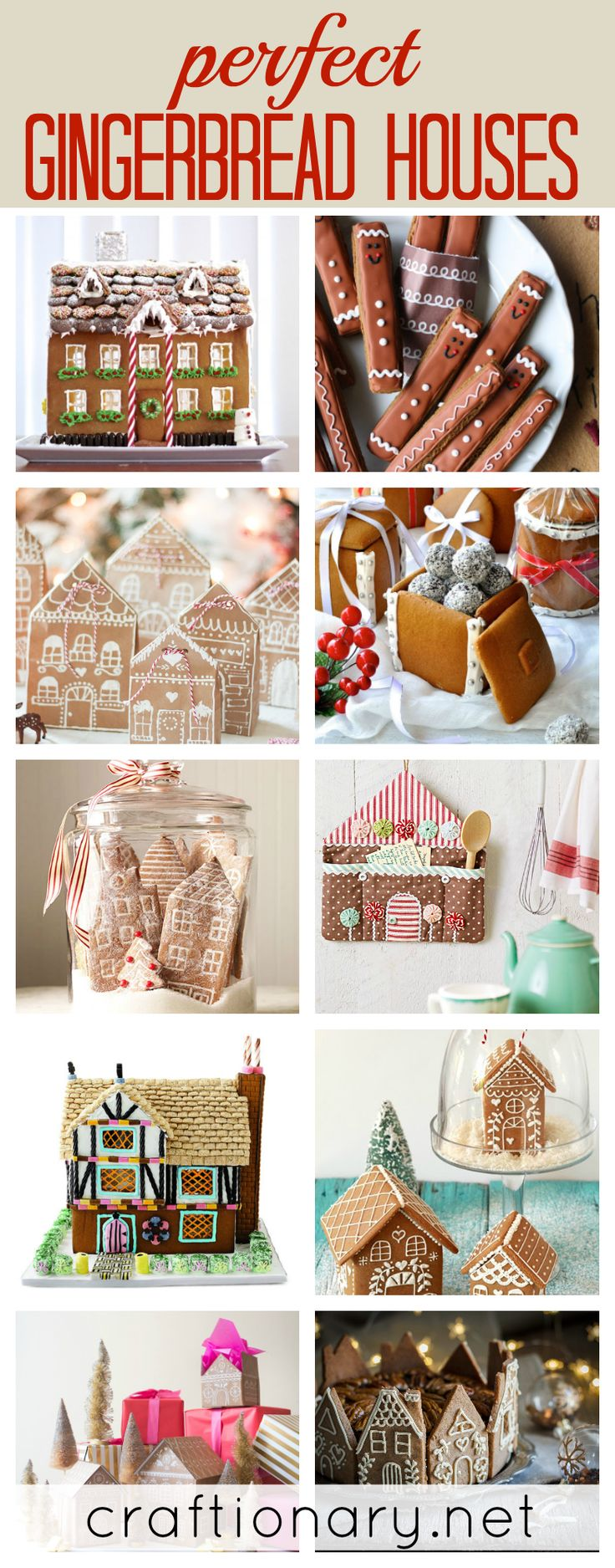 Perfect gingerbread houses recipes