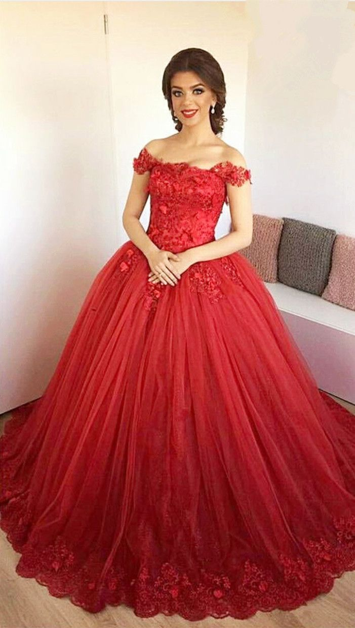 25 Best Red Ball Gowns Ideas On Pinterest