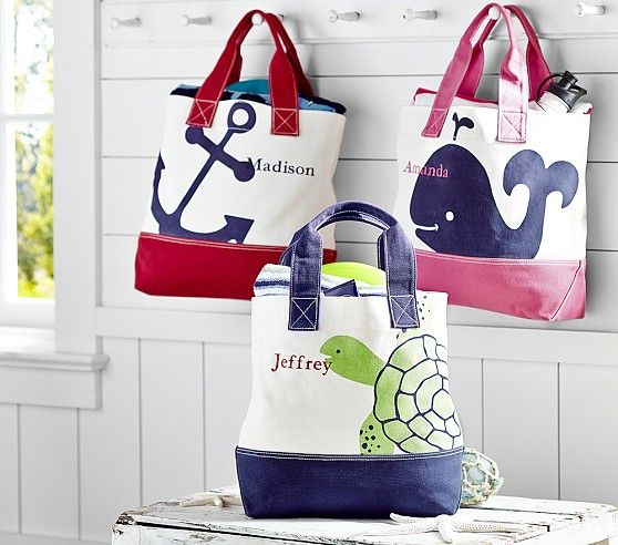 Cape Cod Totes Boy Diaper Bags Bags Pottery Barn Kids