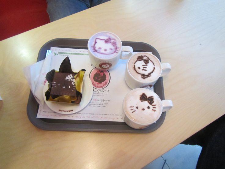 South Korea has Hello Kitty Café...just sayin!