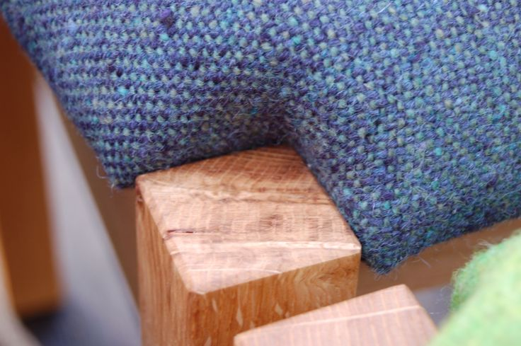 Teviot Side Chair detail with Bute Fabrics http://www.buydesigngallery.com