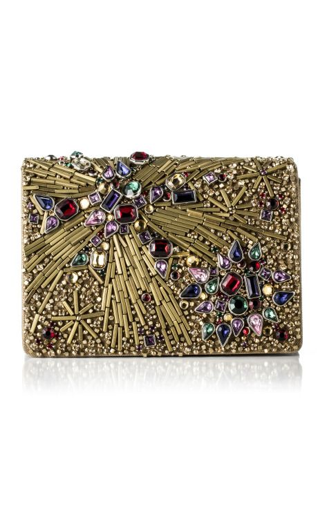 Statement Clutch - Blood Rose by VIDA VIDA