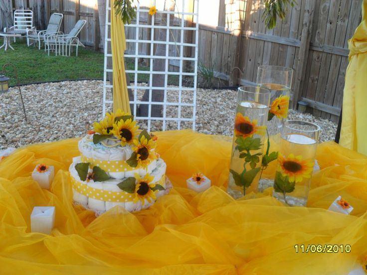 SUNFLOWERS Baby Shower