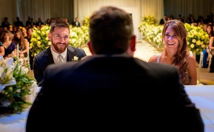 Estrellas de todo el mundo llegaron a la espectacular boda de Lionel Messi y Antonella Roccuzzo