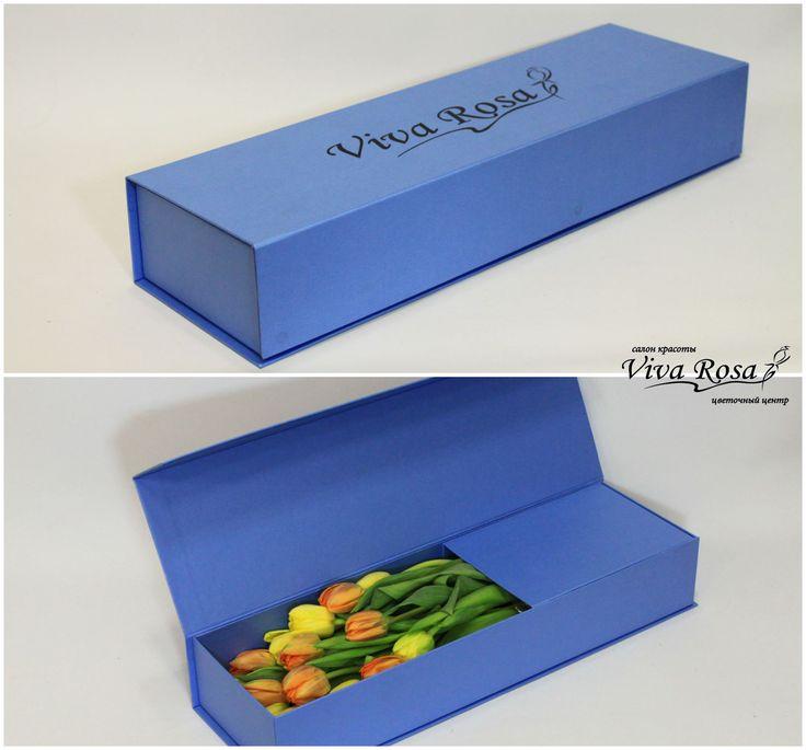 Еще одна коробка с пионовидными желтыми и оранжевыми тюльпанами)) Настало время задуматься о подарке на 8 марта. А Вы уже определились с подарком?) Салон красоты и цветов Viva Rosa  📞050-362-35-55  ул. В. Вернадского, 1/3