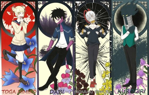 League Of Villains Tag Ignore Myheroacademia Deku Myheroacademiaedit Izukumidoriya Izukumidoriyaedit Katsukibakugou Sho Anime Hero Hero Wallpaper