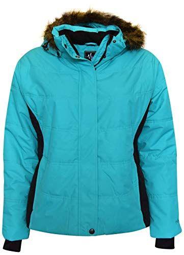 02a68465530 New Pulse Women s Plus Extended Size Ski Coat Jacket Aspens Calling womens  fashion clothing.