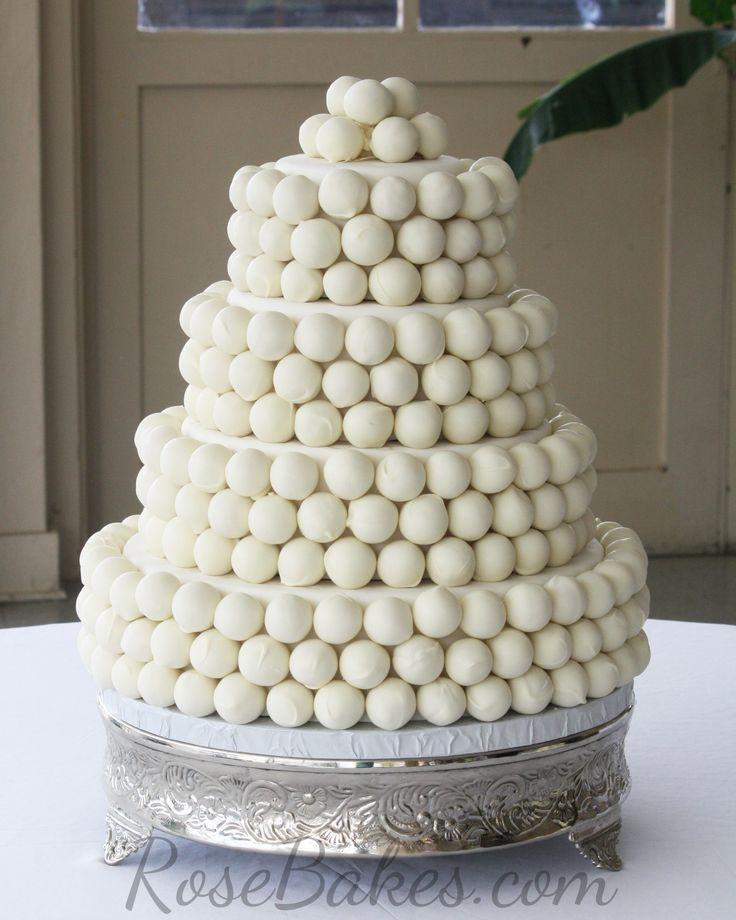 Best 25 Wedding Cake Balls Ideas On Pinterest