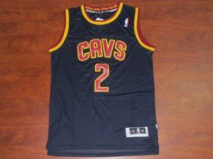 Cleveland Cavaliers NBA Kyrie Irving #2 Navy Blue Basketball Jersey [F192]