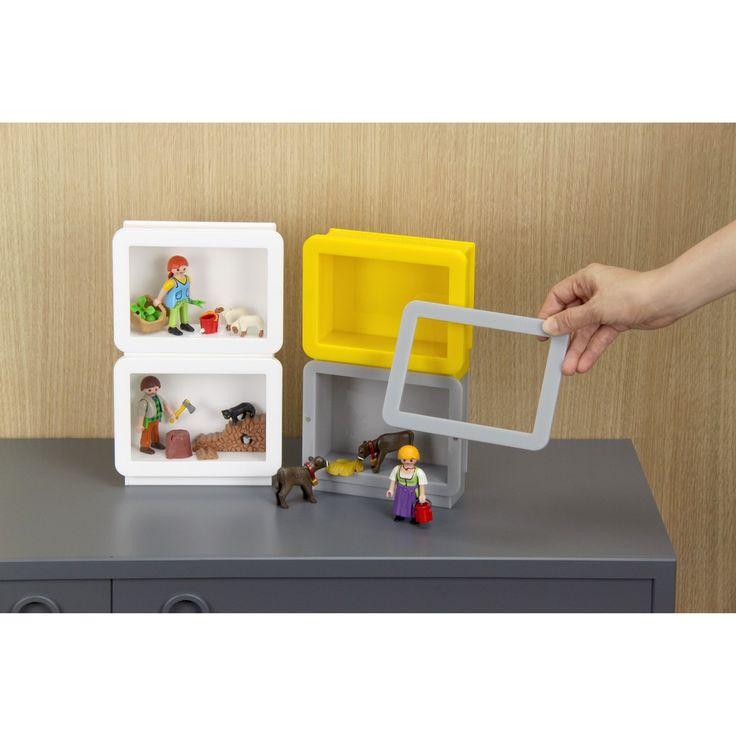橫式壓克力相框模型小物收納盒  - Horizontal Acrylic Model Display Case by SO+FUN design