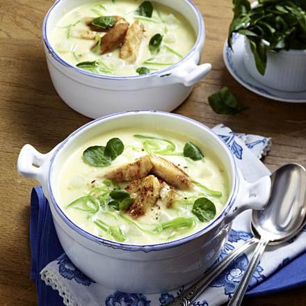 Kohlrabi-Suppe Rezept   LECKER