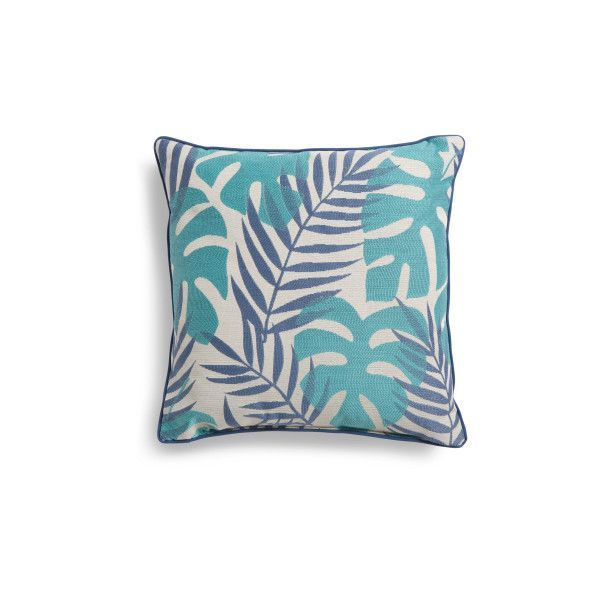 Made In USA 22x22 Tropical Pillow ($25) ❤ liked on Polyvore featuring home, home decor, throw pillows, tropical throw pillows, tropical home decor and tropical accent pillows #tropicaldecor