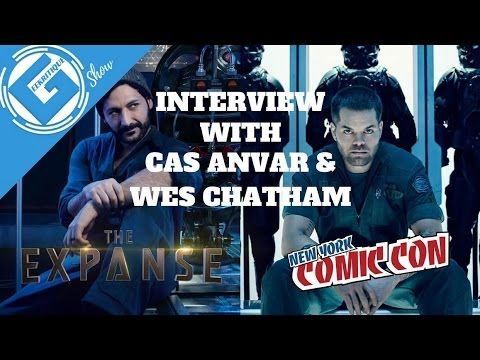 Geekritique deliver excellent full interview with Cas Anvar & Wes Chatham on The Expanse was at NYCC 2016. Talk more about their growth as characters in the show from Season 1 and more toward Season 2 may happen.