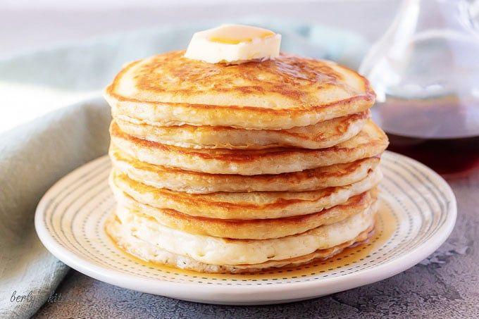 Fluffy American Pancakes Recipe American Pancakes Buttermilk American Pancakes Pancakes