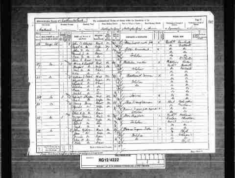 ERRINGTON, Elizabeth (1866-1921) sister-in-law of aunt   1891 England Census Census & Electoral Rolls  Birth1865 - Whickham, Durham, England ChildrenRobert Barrie NameElizabeth Barrie ResidenceWillington Quay, Wallsend, Northumberland SpouseGeorge Barrie
