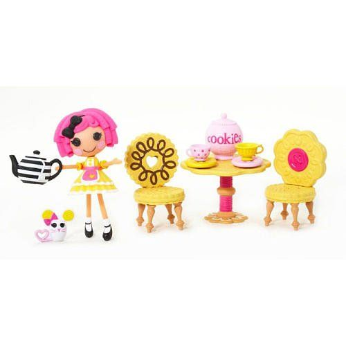 Mini Lalaloopsy Crumbsu0027 Tea Party Crumbs Sugar Cookie Playset Bitty Buttons //  sc 1 st  Pinterest & 39 best Dolls images on Pinterest | Dolls Fashion dolls and Monsters