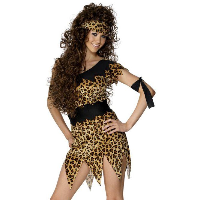 Cavewoman Fancy Dress Costume 28600 £9.99