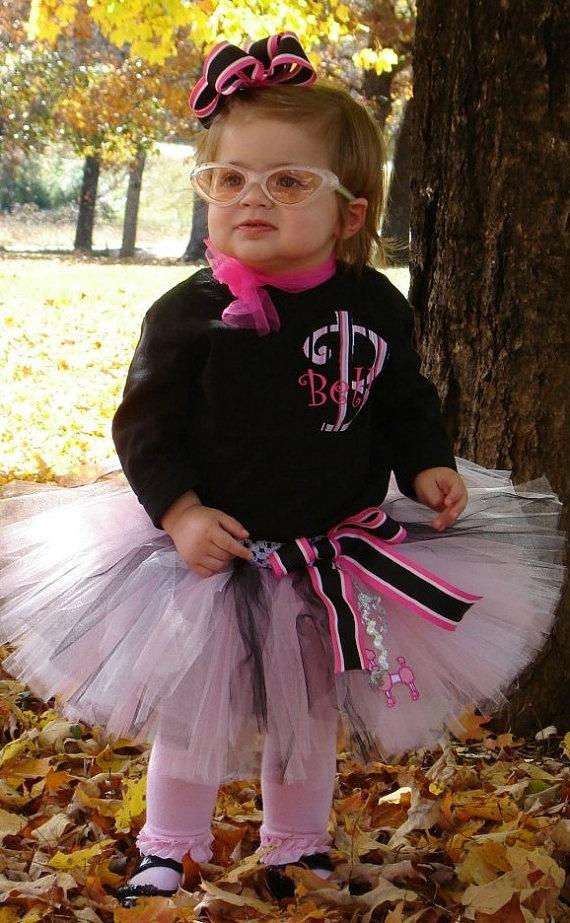 Pink Poodle Skirt Haha Too Cute