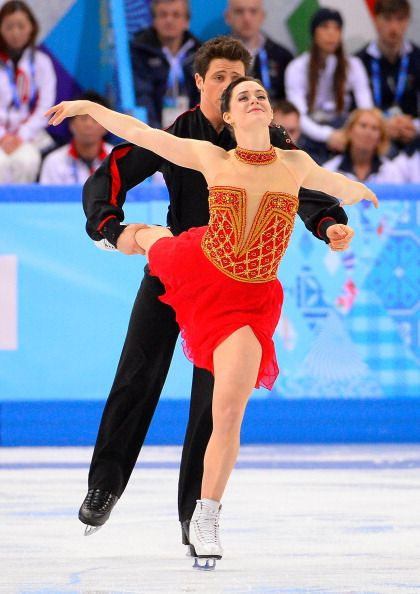 Dancing on Ice - Tessa Virtue & Scott Moir - team ice dance - Sochi, Russia - 2014 Olympics