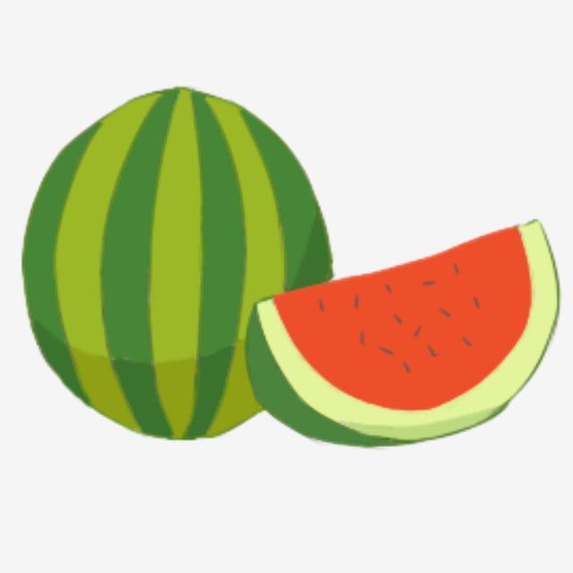 Hand Painted Fruit Watermelon Design Diagram Sweet Delicious Health Png Transparent Clipart Image And Psd File For Free Download Semangka Kartun Ilustrasi
