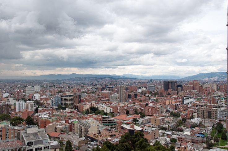 Bogotá desde lo alto