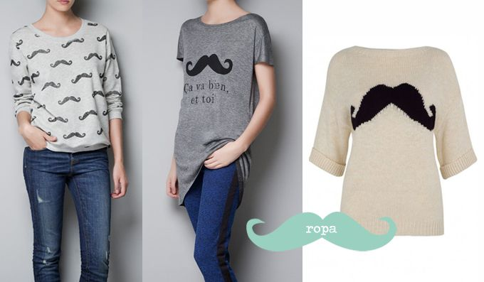 Ropa con bigotes / Moustache Clothes