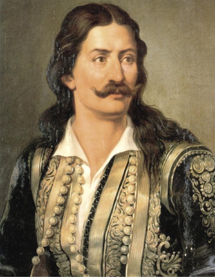 Αθανάσιος Διάκος (1788-1821) , ήρωας οπλαρχηγός του Αγώνα.
