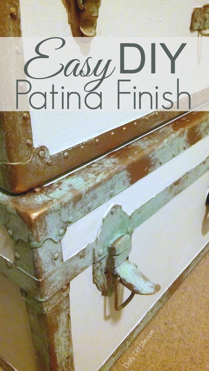 How To Give A Worn Out Piece An Easy New Patina Finish