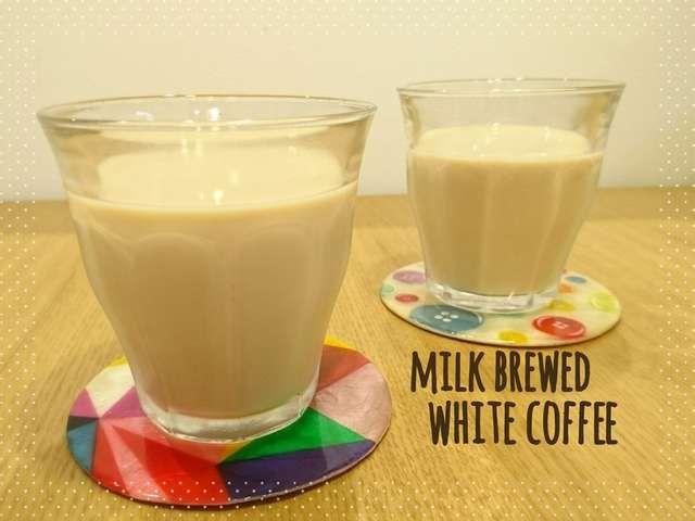 水出し珈琲 ではなく牛乳で 白い珈琲 By Chanomaru レシピ ミルクコーヒー 珈琲 コーヒー